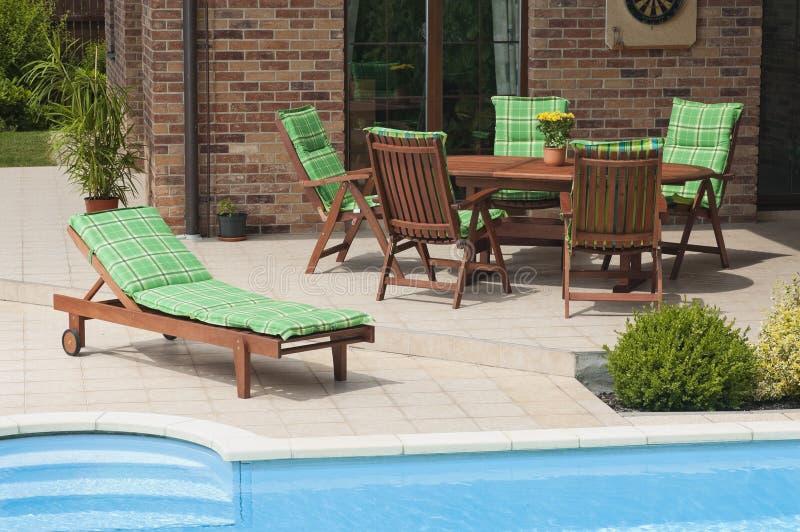 Download Garden furniture stock image. Image of estate, patio - 25726775