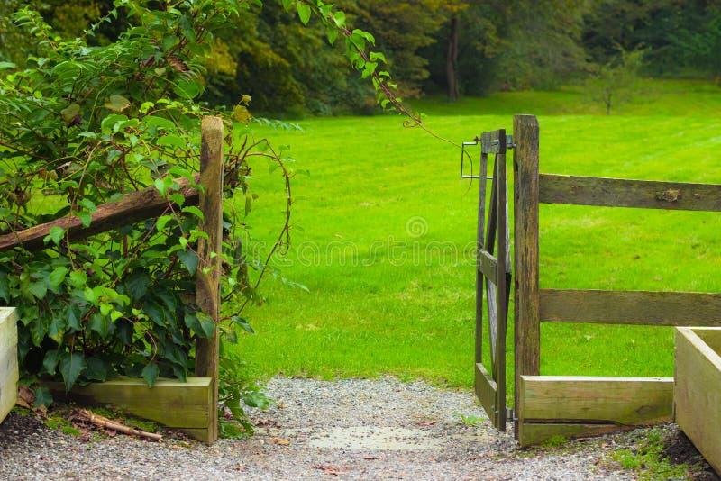 Garden Gate royalty free stock photos