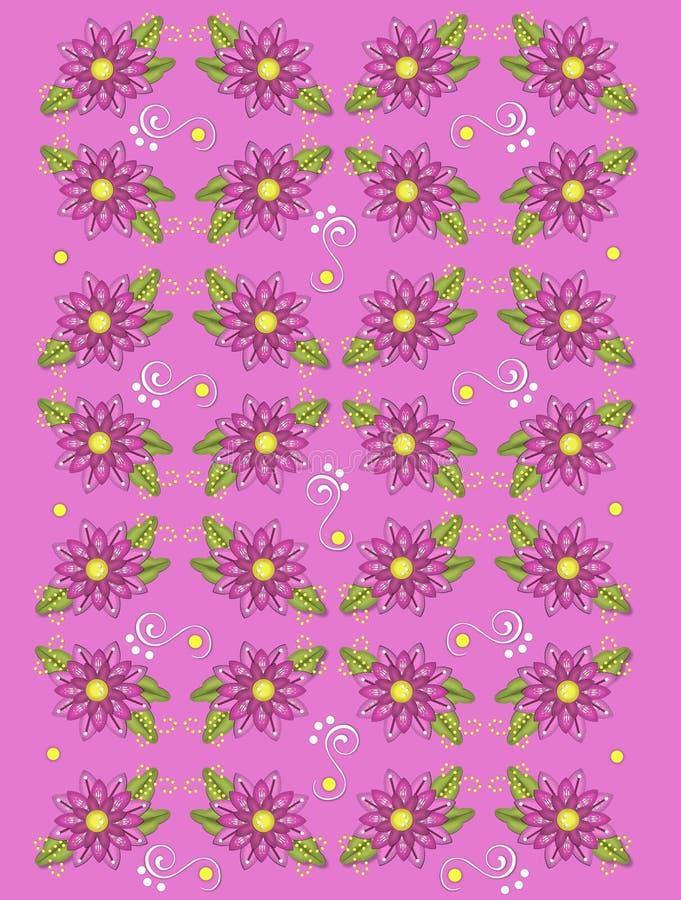 Download Garden Geraniums Deep Pink stock illustration. Image of decorated - 28450439