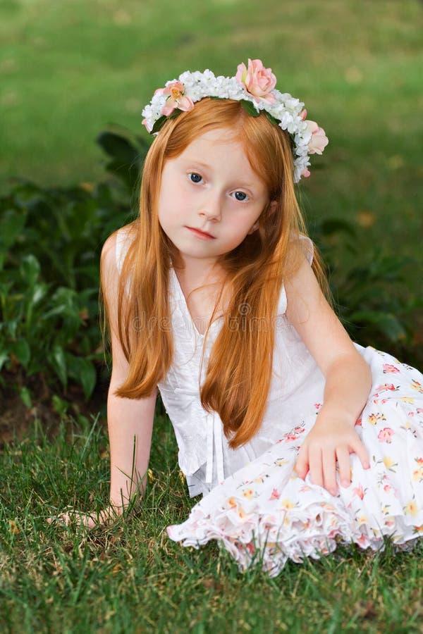 Garden Girl Royalty Free Stock Images