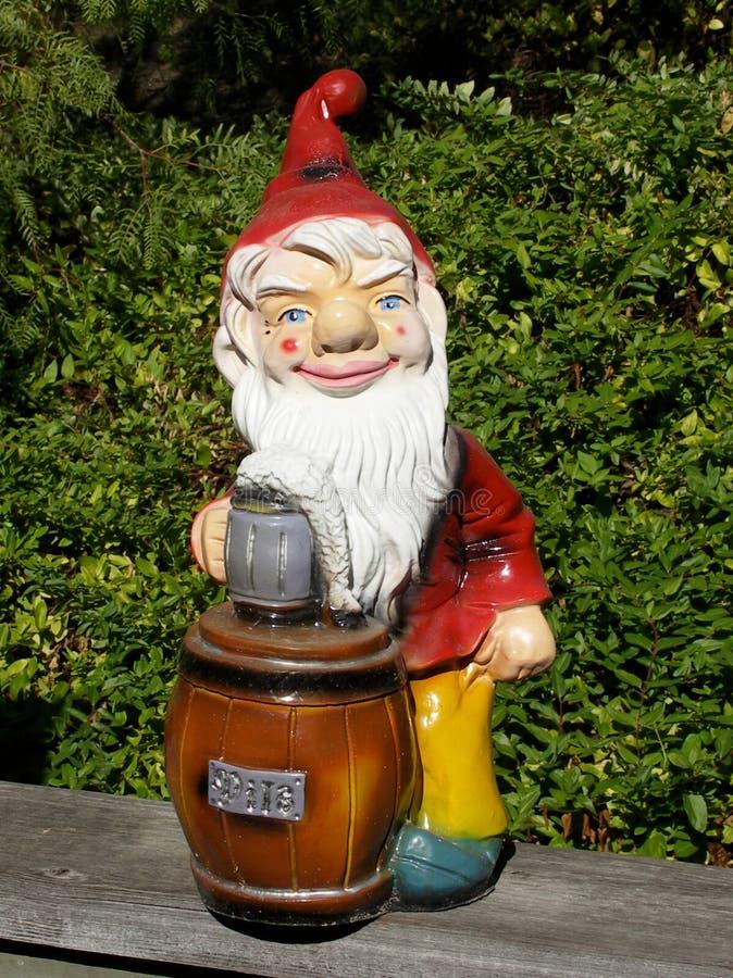 Garden gnome stock photography