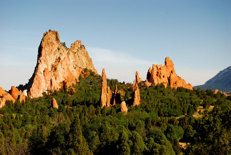 Garden of Gods royalty free stock photos