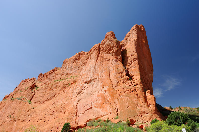 GARDEN OF THE GODS. Colorado Springs , Colorado stock photography