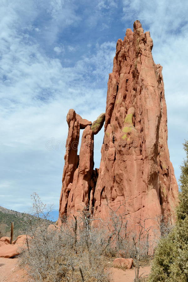 Download Garden Of The Gods Cathedral Spires Stock Photo - Image: 18936304