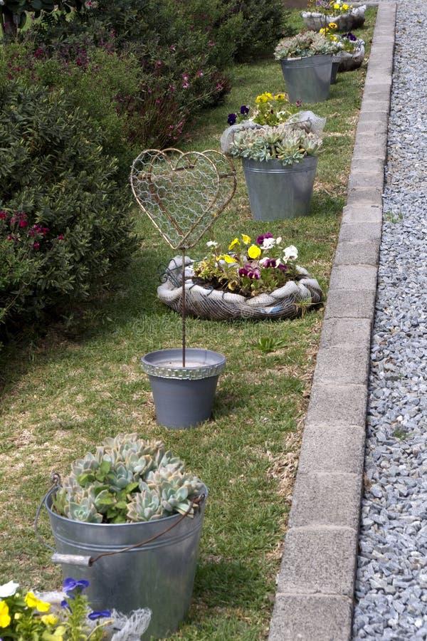 Download Garden heart stock image. Image of plants, gravel, heart - 23554173
