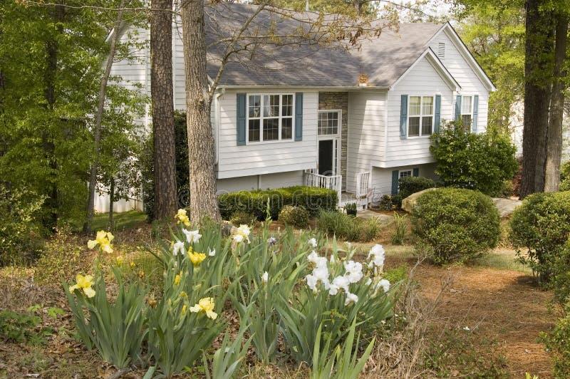 Garden Home royalty free stock photo