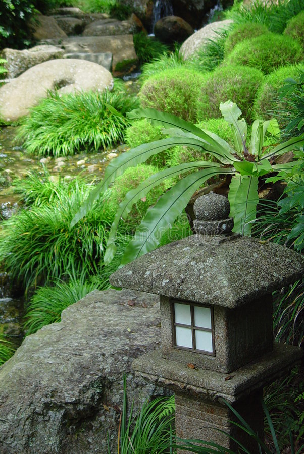 garden japanese στοκ φωτογραφία