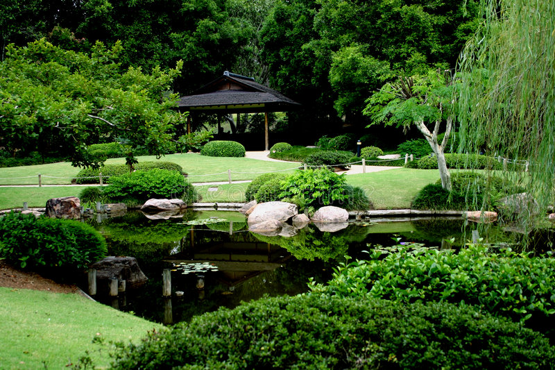 garden japanese στοκ εικόνες