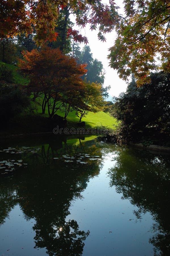 Download Garden Lake Royalty Free Stock Photo - Image: 1418045