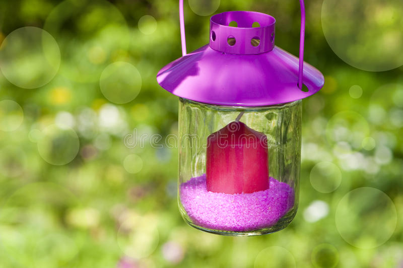 Download Garden lantern stock image. Image of decorate, lightness - 24539911