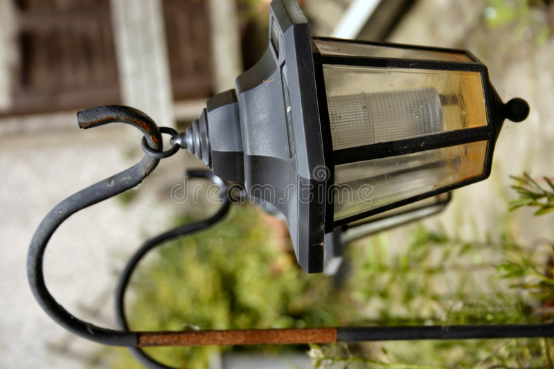 Garden lighting royalty free stock image