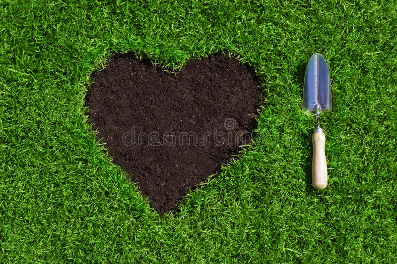 Garden love royalty free stock photos