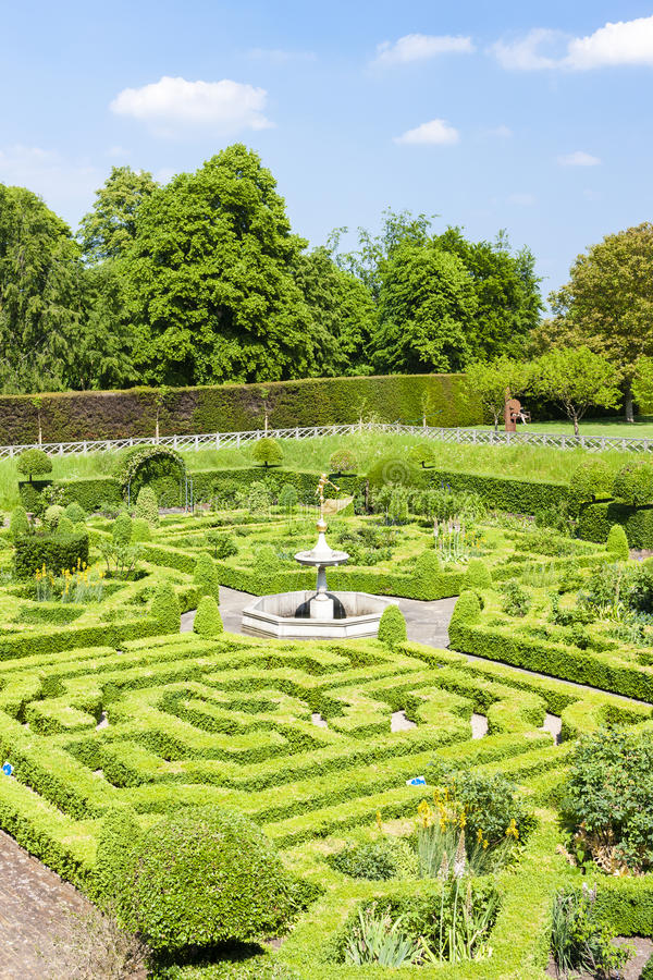 Free Garden Of Hatfield House Stock Images - 55233134
