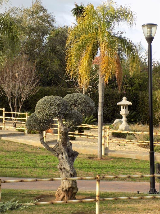 Garden oriental Alhaurin de la Torre imagen de archivo libre de regalías
