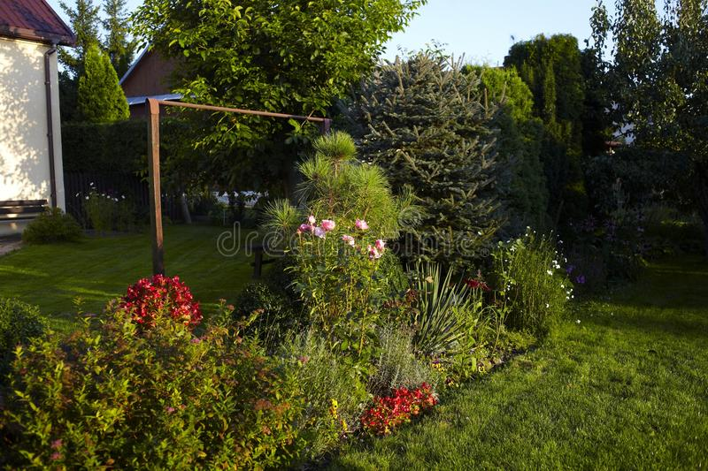 Garden stock photography