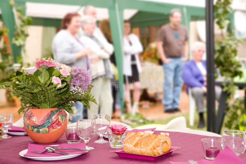 Download Garden party stock photo. Image of garden, wedding, barbecue - 14850586
