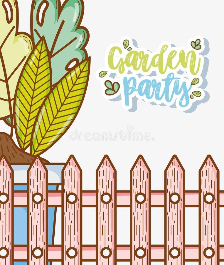 Garden party card stock vector illustration of child 113680731 download garden party card stock vector illustration of child 113680731 stopboris Choice Image