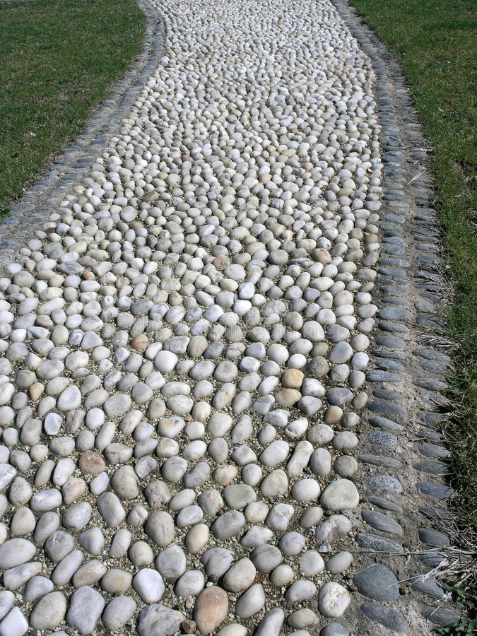Download Garden path stock image. Image of path, beach, stone, cobble - 1400433