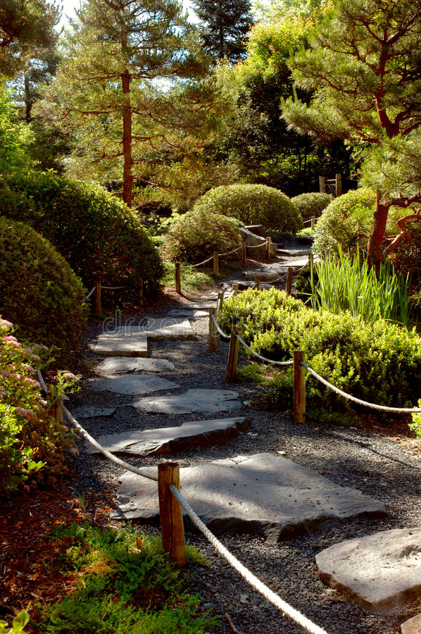 Download Garden Path Royalty Free Stock Images - Image: 189449