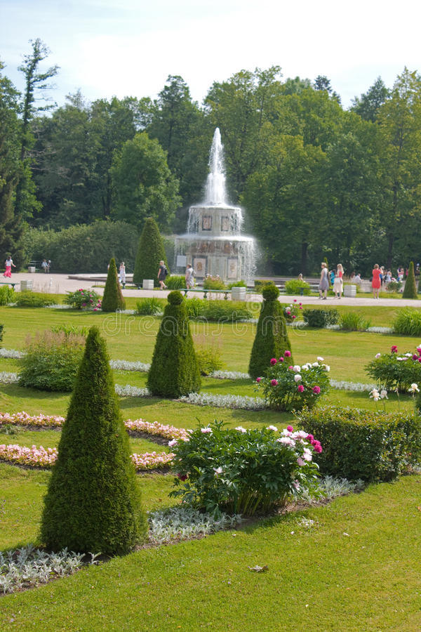 Download Garden of Peterhof stock image. Image of lower, aviary - 29626173