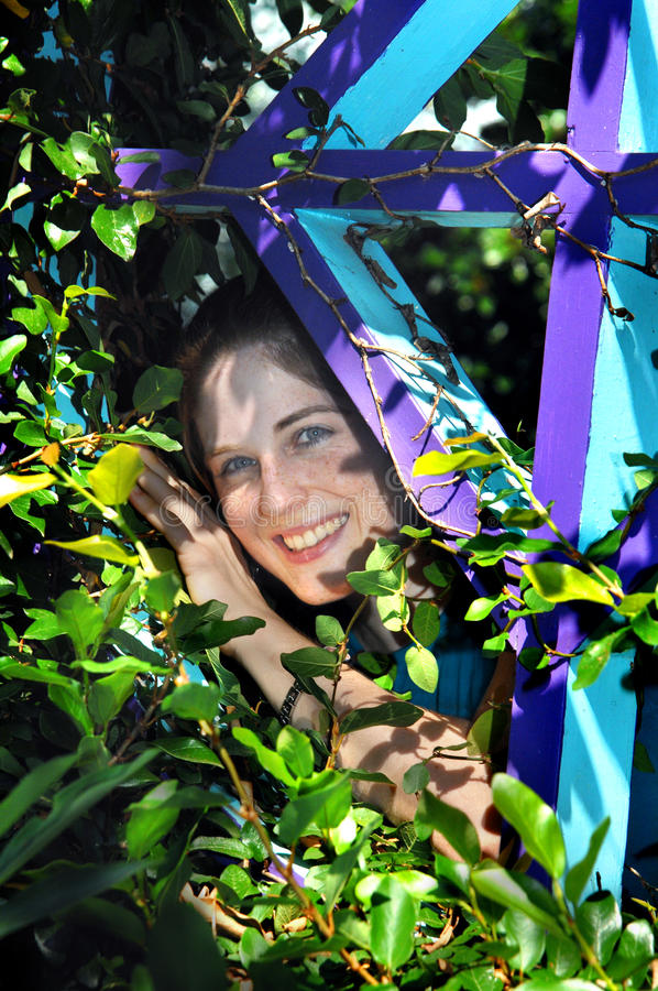 Garden Pixie royalty free stock photo