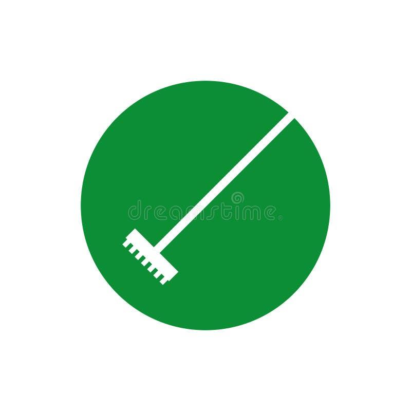 Garden rake isolated icon. Vector illustration design vector illustration
