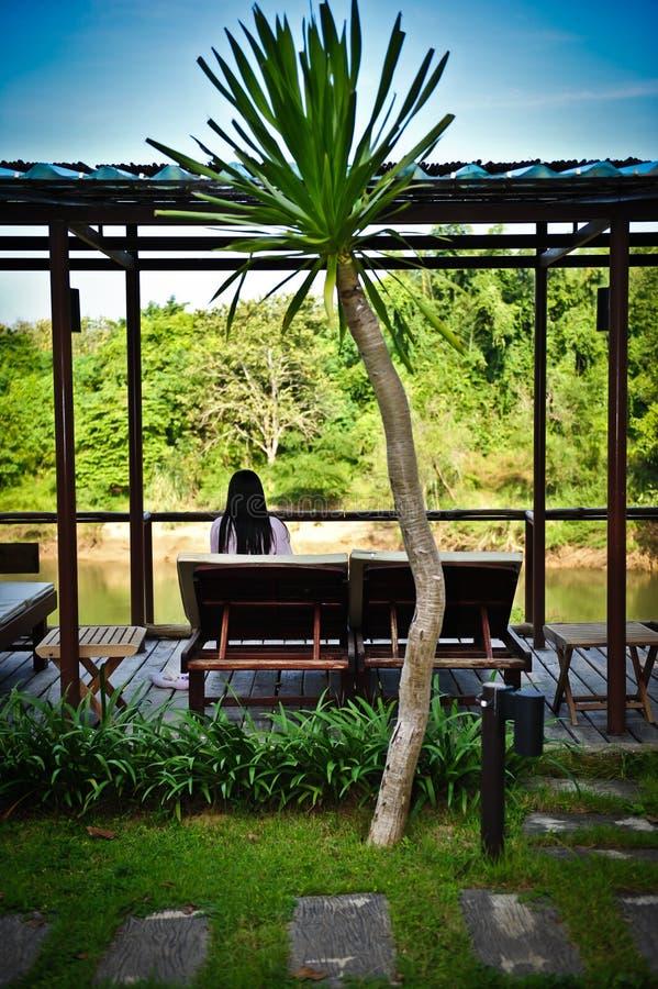 Download Garden resort stock photo. Image of pool, blue, sofa - 28890078