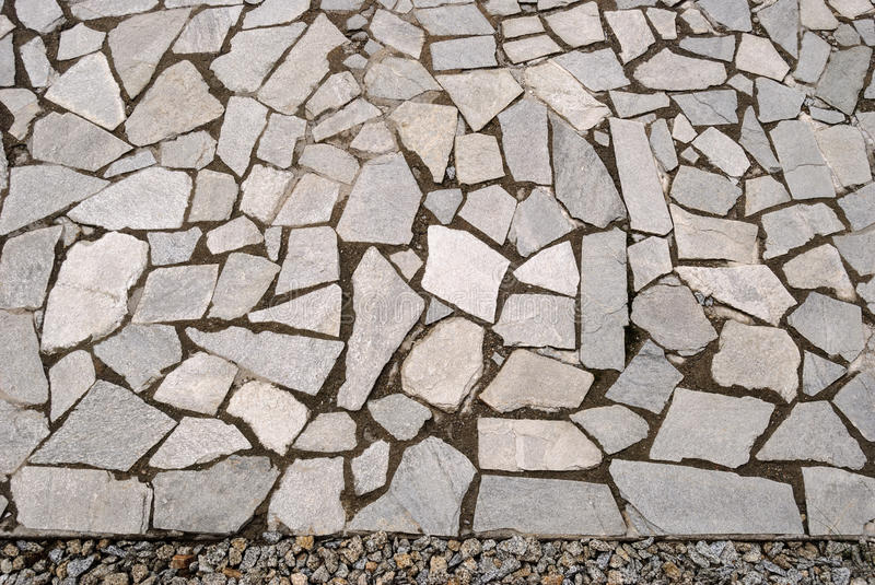 Download Garden Rock Pavement With Pebbles Stock Image   Image: 55777033
