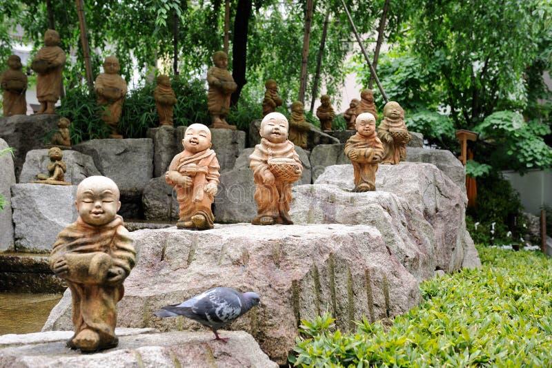 Download Garden In The Rokkaku-do Temple Stock Image - Image: 22956603