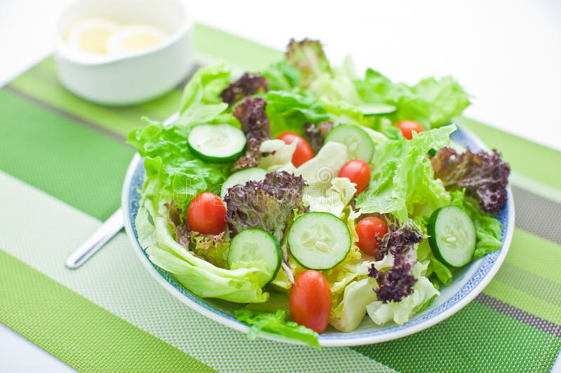 Garden Salad. In a bowl royalty free stock images