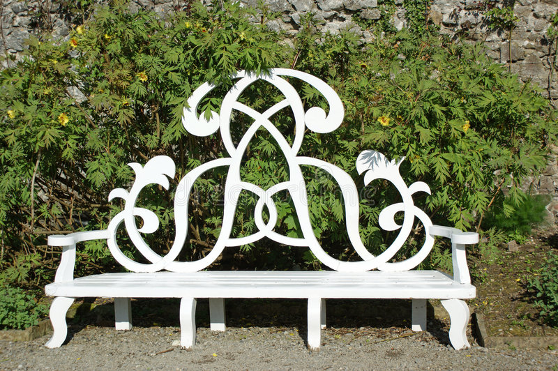 Download Garden seat stock image. Image of chair, bench, grass - 5351839