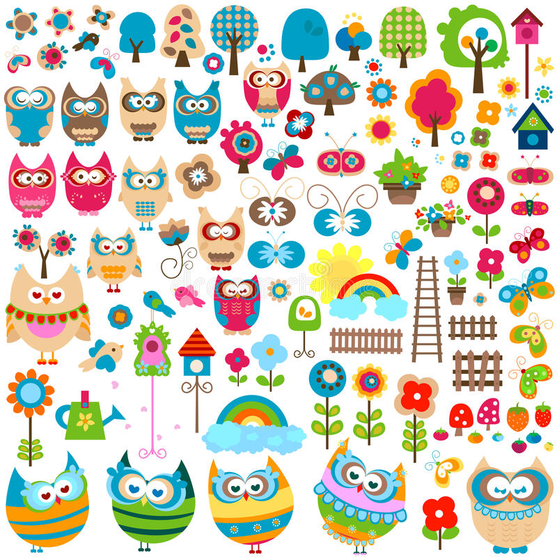 Download Garden set stock vector. Illustration of nature, fence - 23639290