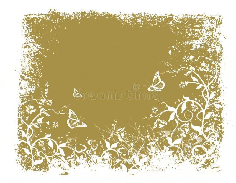 Garden splendor. Abstract floral background stock illustration