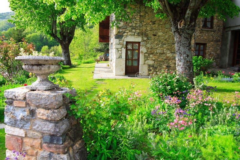 Garden At Spring Season Stock Photo Image 2440250