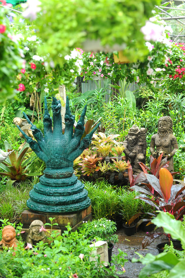 Garden Statue royalty free stock image