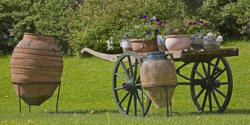 Garden stillife stock image