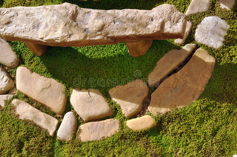 Download Garden stones stock image. Image of circle, place, stones - 22967549