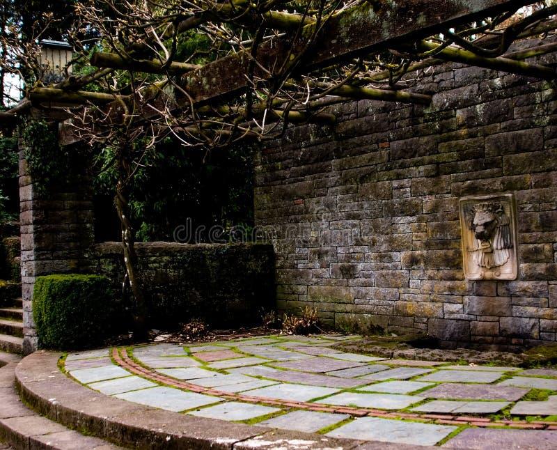 Garden structure stock photos