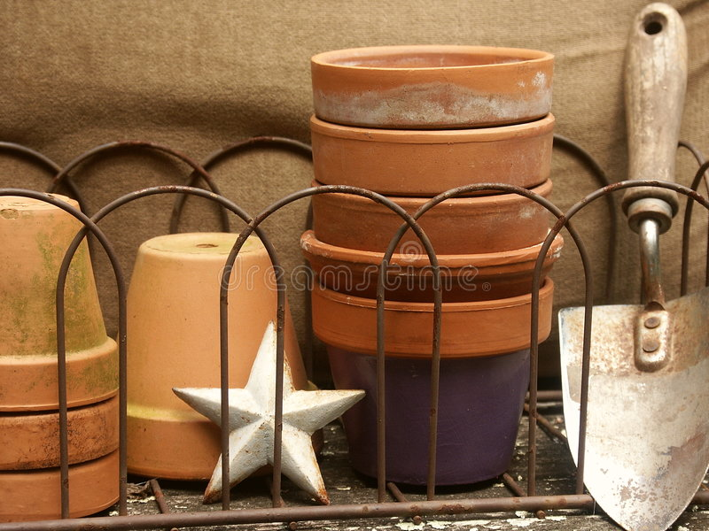 High Quality Download Garden Stuff Still Life Stock Photo. Image Of Collection   2757304