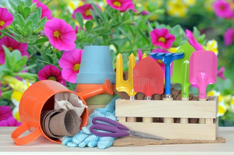 Garden tool stock image