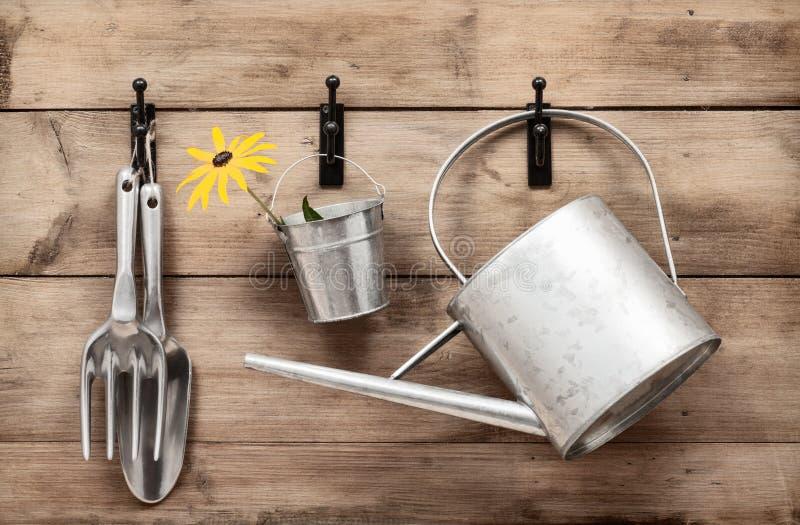 Garden Tools Stock Photo
