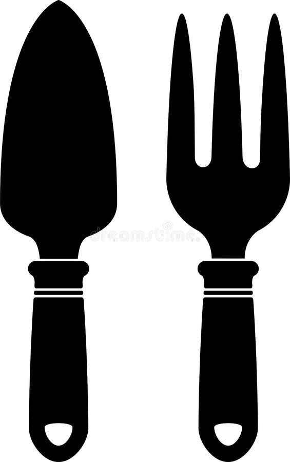 Garden tools (silhouette)