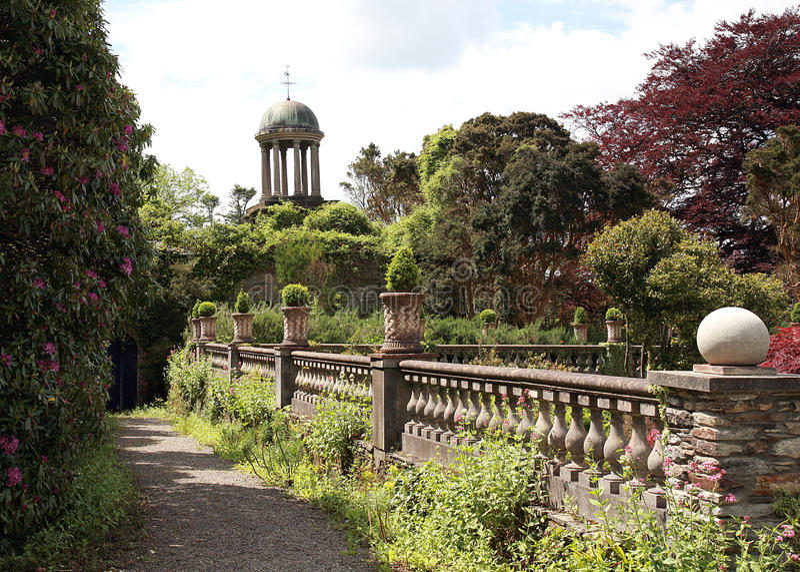 Garden Turret stock images
