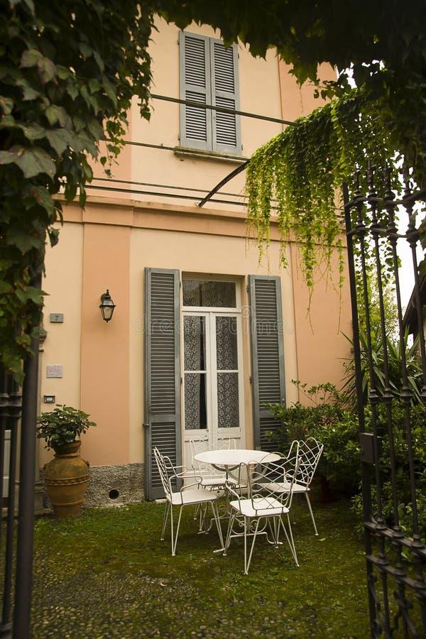 Garden Varenna, Italy royalty free stock photography