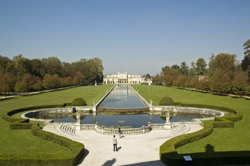 Garden Of Villa Pisani Editorial Image