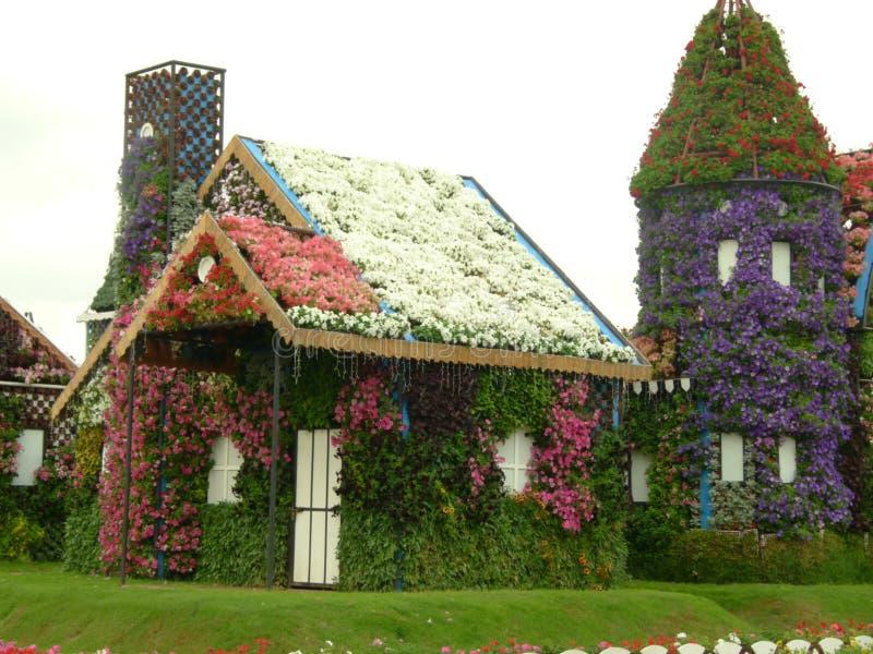 Garden Village in Dubai royalty free stock photography
