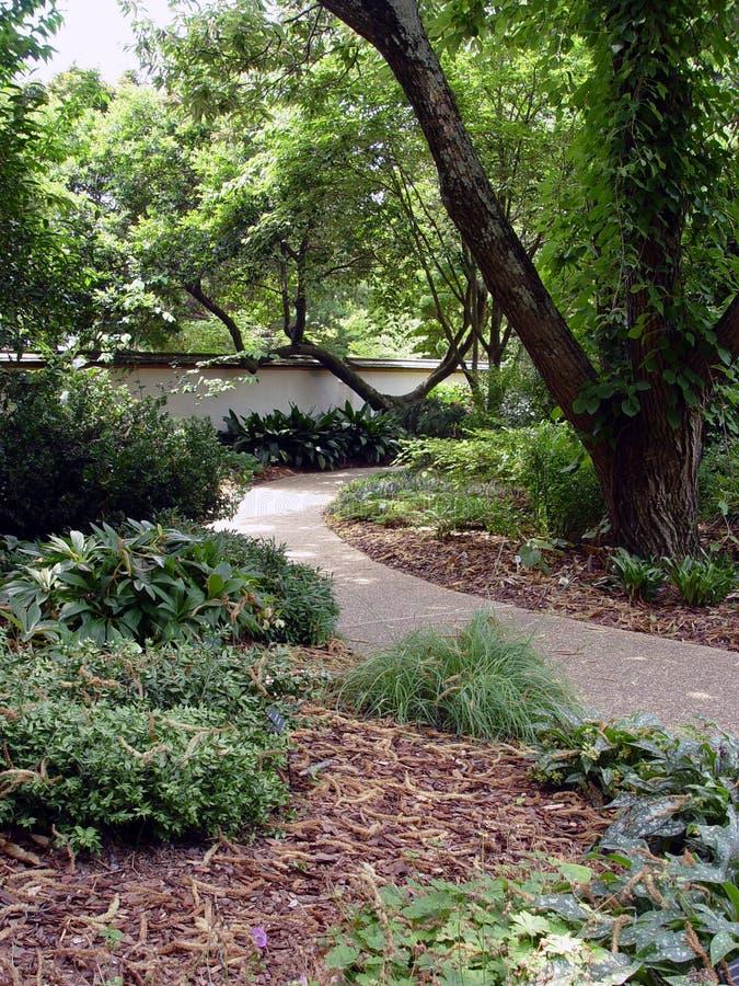 Garden Walk stock photography