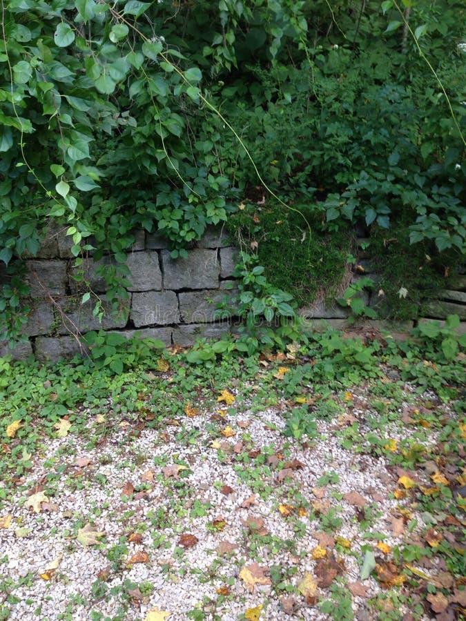 Garden wall stock photos