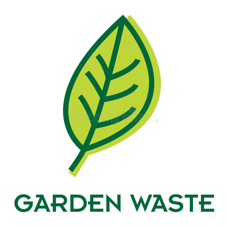 Download Garden waste recycle sign stock vector. Illustration of environment - 21430206
