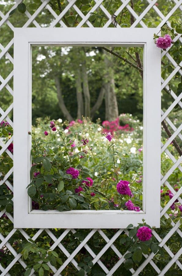 Garden Window Royalty Free Stock Photos